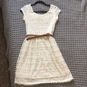 White lace Maurices dress
